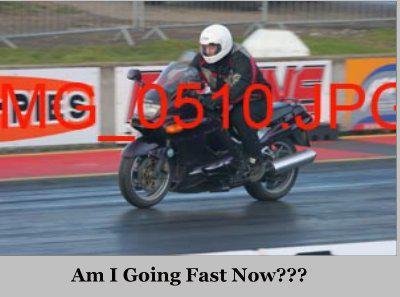 dazza going fast